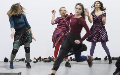 Athens Video Dance Project | Promenade | Ανωτάτη Σχολή Καλών Τεχνών