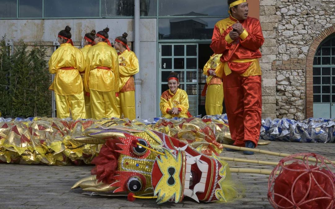 Κινεζικη Πρωτοχρονια στην Τεχνοπολη
