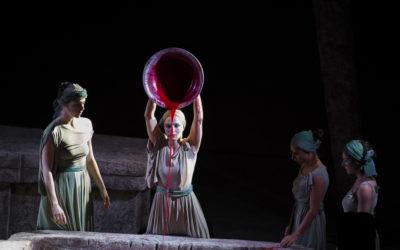 Αρχαίο Αίμα, παράσταση χοροθεάτρου της Σοφίας Σπυράτου, Θέατρο Βράχων