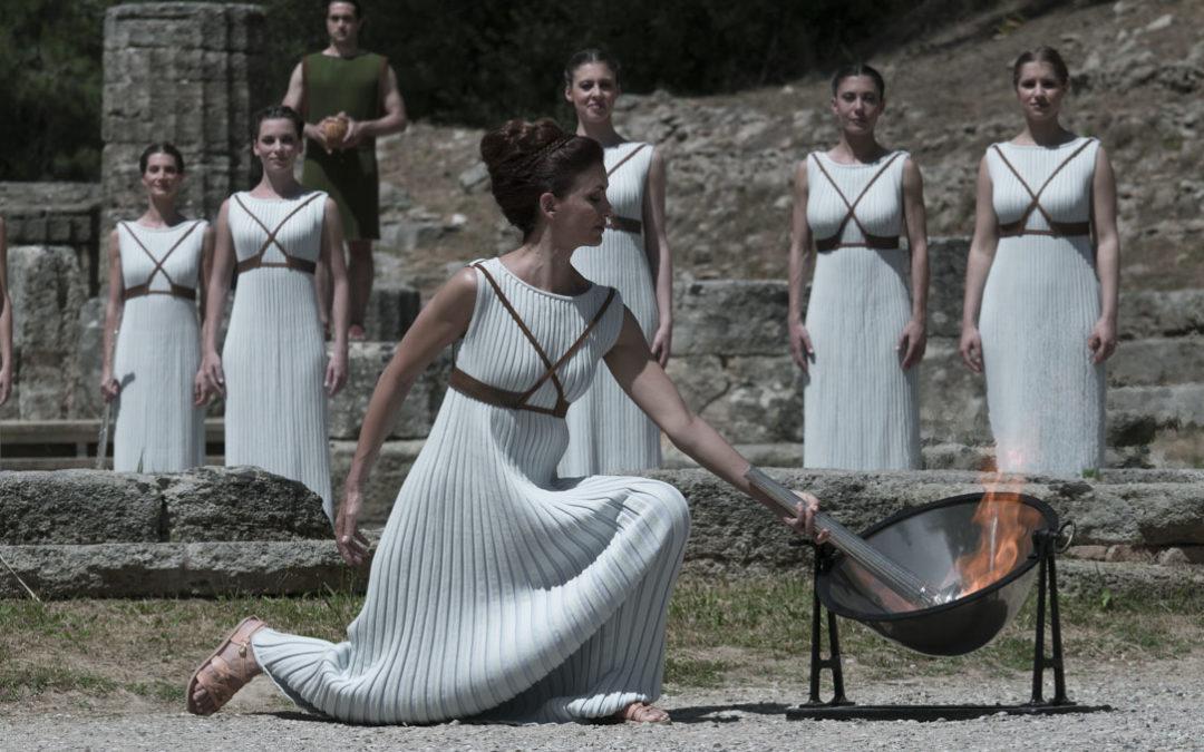 Τελετή Αφής της Ολυμπιακής Φλόγας, Αρχαία Ολυμπία 2016