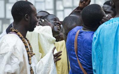 Η κοινοτητα Σενεγαλεζων Μουριντ στο Μουσειο Μπενακη