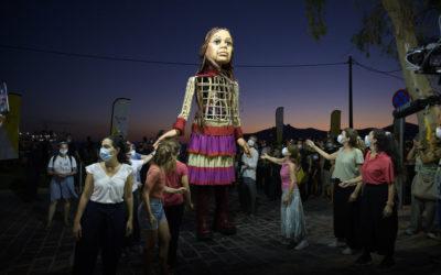 Little Amal (The Walk) | Athens – Piraeus – Elefsina