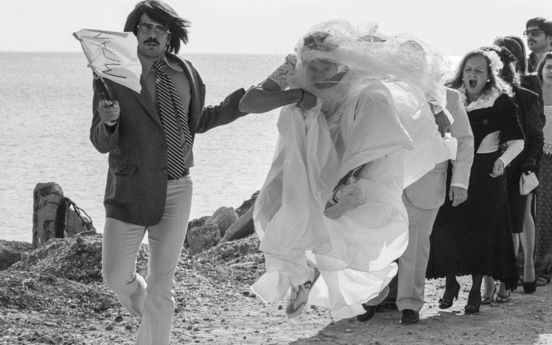 """Tonis Sfinos απο τα γυρισματα του βιντεοκλιπ """"Παντρεύεται"""""""